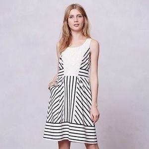 "NWT Anthropologie Maeve ""Chessia"" Striped Dress"